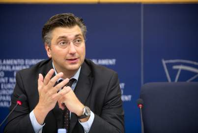 Press conference on the draft amending budget related to the accession of Croatia to the EU