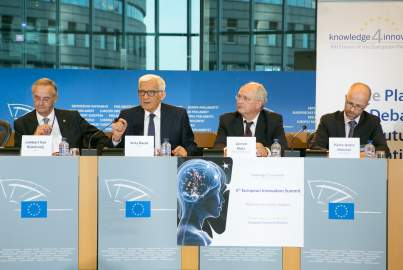 Press conference on the 5th European Innovation Summit