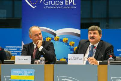 Press conference on the integration of the Ukraine in the European Union