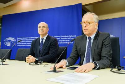 Press conference on the EU Magnitsky Act and the connection of the Magnitsky Case to money-laundering in Europe