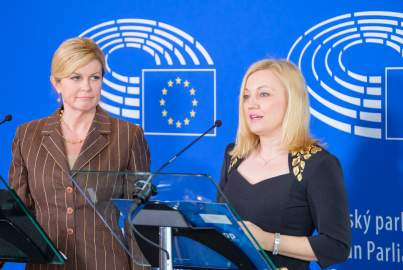 Press conference on International Women's Day
