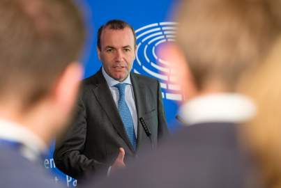 Press Point following the EPP Group Constitutive meeting