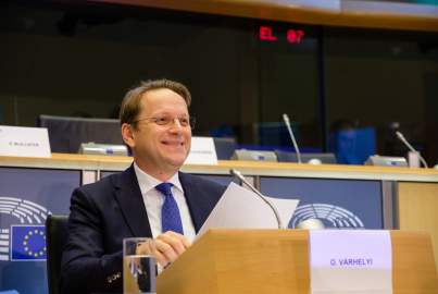 Hearing of Commissioner-designate Olivér Várhelyi