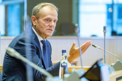 Group meeting in the presence of Donald Tusk
